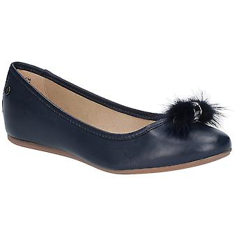 Hush Puppies Womens Heather Puff Ballet Shoe