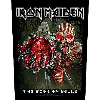 Iron Maiden sjælens bog Eddie ' s hjerte Jumbo størrelse sy-på klud backpatch (RZ)