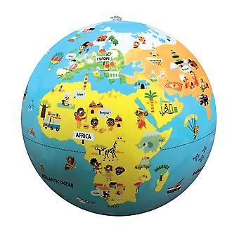 Tiny Travelers Inflatable World Globe, 12