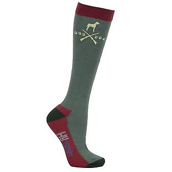 HyFASHION Adult Unisex Fox And Hound Socks (Pack Of 3)
