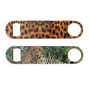 Leopard Print Bottle Opener