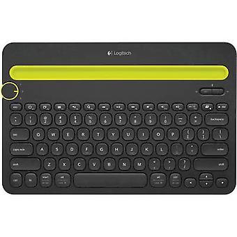 Teclado Logitech K480 Tablet PC Compatible con (marca Tablet PC): Android™ universal, Apple iOS®, Windows®, Mac OS®