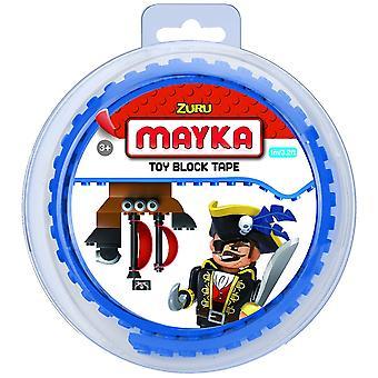 Zuru Mayka Toy Block Tape 1 Metre Assorted Color