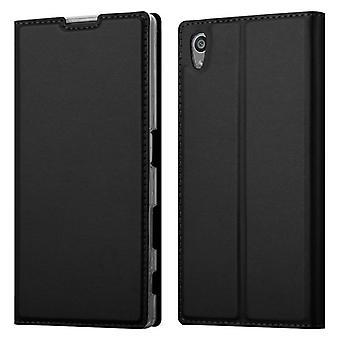 Hülle für Sony Xperia Z5 Klappbare Handyhülle - Cover - mit Standfunktion und Kartenfach