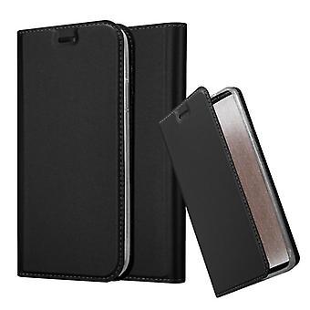 Fodral för iPhone XR vikbart telefonhölje - lock - med stativfunktion och kortfack