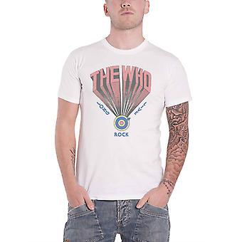 The Who T Shirt Long Live Rock Band Logo new Official Mens White