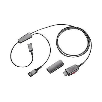 Plantronics Y-Adapter Training Cable, With Mute And QD Clamp
