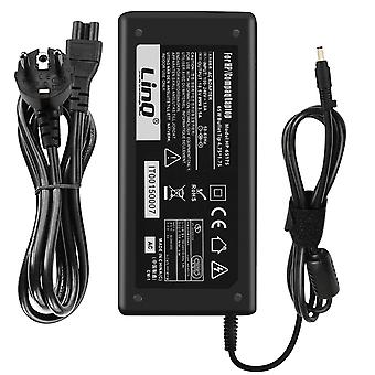 AC charger for HP 65W/ 18.5V 3.5A Tip 4.75*1.75 mm- HP-65175- LinQ, Black