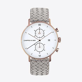 Kapten and Son Chrono Watch