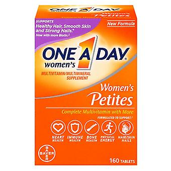 One a day women's multivitamin petites, tablets, 160 ea