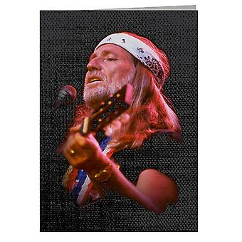 TV Times Willie Nelson Live Greeting Card