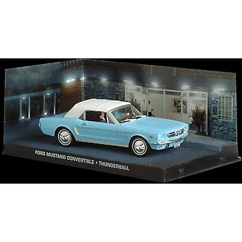Ford Mustang Convertible (1964) Diecast Model Car from James Bond Thunderball