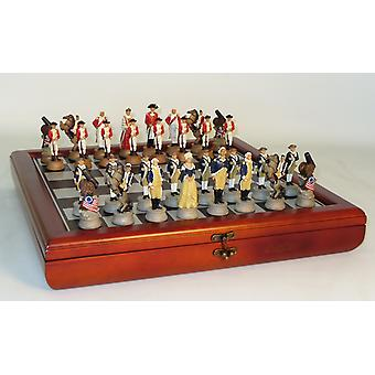 Worldwise American Revolution Chess Set With Chest