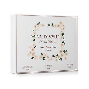 Damen's Parfüm Set Rosas Blancas Aire Sevilla (3 Stück)