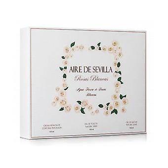 Women's Perfume Set Rosas Blancas Aire Sevilla (3 db)