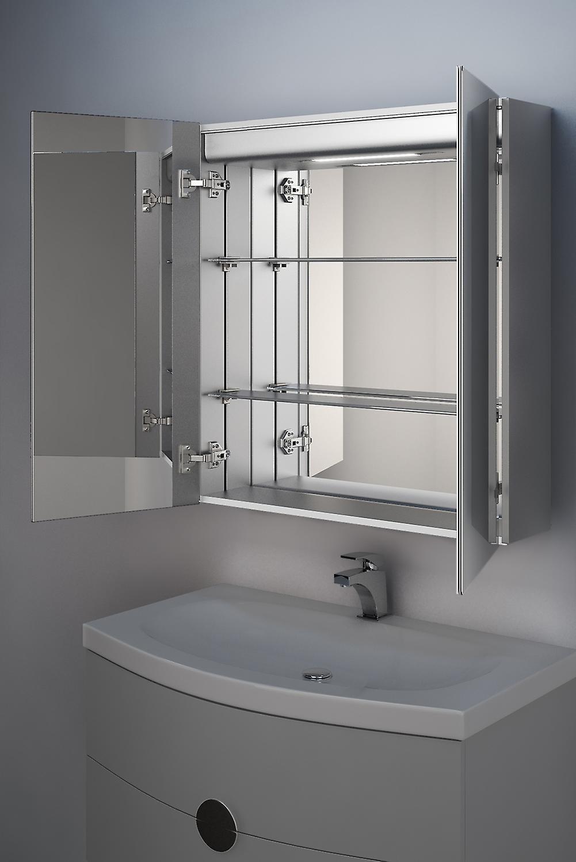 Yalena LED salle de bains Cabinet avec Dévésiculeur Pad, capteur et Shaver K364