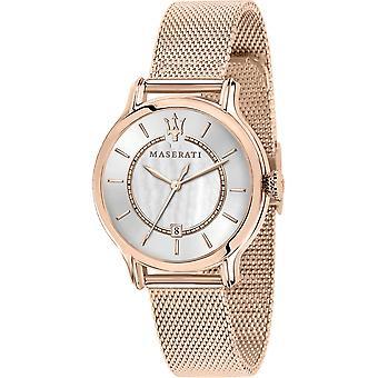 Maserati R8853118506 Kobiety's Epoca Rose Gold Tone Zegarek na rękę