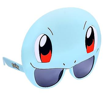 Sun-Staches Costume Sunglasses Pokemon Squirtle Party, Light Blue, Size One Size