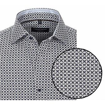 CASA MODA Casa Moda Long Sleeve Formal Patterned Shirt