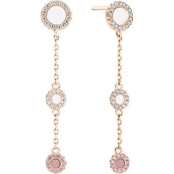 Earrings Zeades Ser02019 - earrings Rose Gold crystals woman