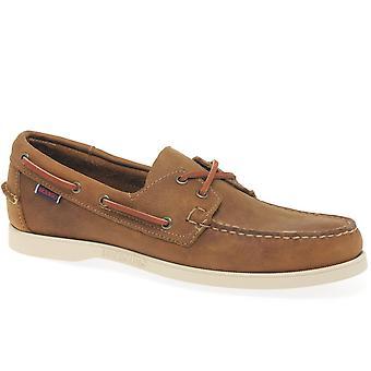 Sebago Docksides Portland Mens Casual Boat Shoes