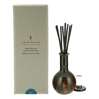 Burlington room scent diffuser with rods - cedar and rose - (cedar and rose) 100ml