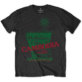 Dead Kennedys Vacances au Cambodge Gris Officiel Tee-Shirt Mens Unisex