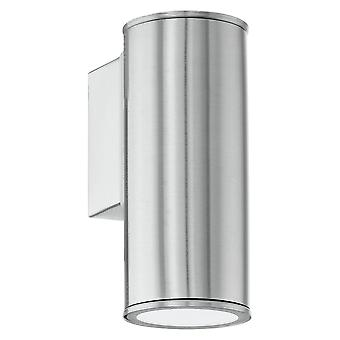 Eglo Riga - LED Outdoor Wall Downlight Stainless Steel IP54 - EG94106