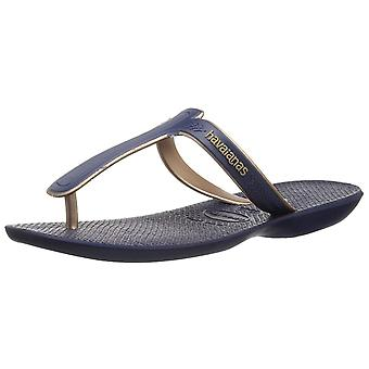 Havaianas Women's Casuale Sandal Navy Blue