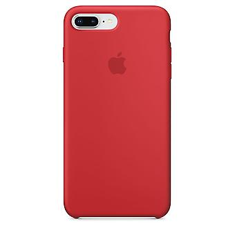 Original Packed MQH12ZM/A Apple Silicone Microfiber Cover Case for iPhone 8+ Plus / 7+ - Red