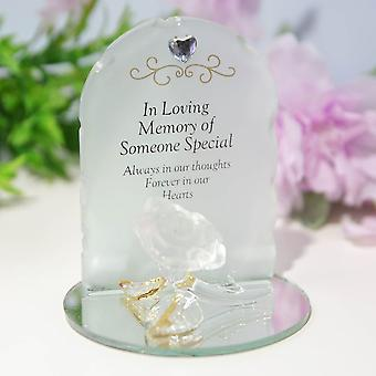 Widdop & Co. Thoughts Of You Rose Plaque - Someone Special