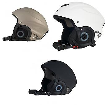 Trespass Adults Skyhigh Protective Snow Sport Ski Helmet
