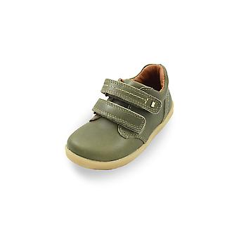 Bobux i-walk port olive green shoes