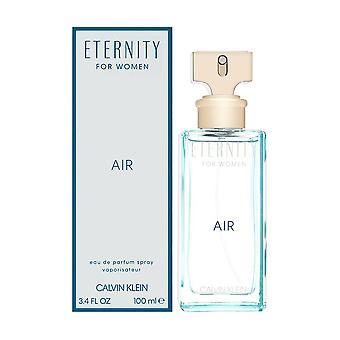 Eternity luft av Calvin Klein för kvinnor 3,4 oz eau de parfum spray