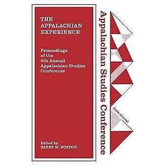 The Appalachian Experience de Barry M. Buxton - 9781469636719 Livre