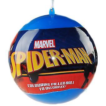 Spider-Man Giant Christmas Bauble et Papeterie Ensemble