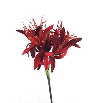 Artificial Silk Nerine Spray