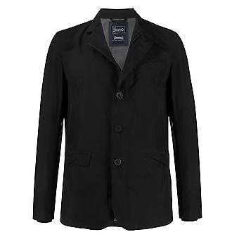 Herno Ga017ul111019201 Men's Blue Nylon Outerwear Jacket