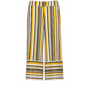 Taifun Wide Leg Striped Culottes