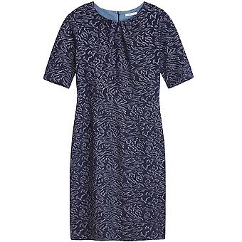 Sandwich Clothing Navy Patterned Dress