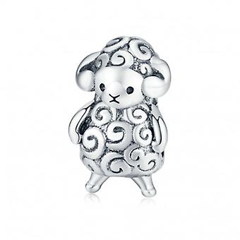 Sterling Silver Charm Baby Sheep - 6523