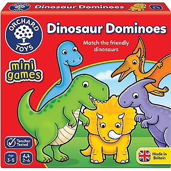 Orchard Toys Mini Game Dinosaur Dominoes