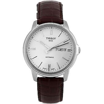 Tissot T065.430.16.031.00 Automatic III White Dial Men's Watch