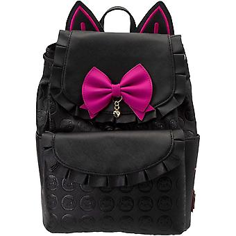 Loungefly Overwatch Luna Faux Leather Drawstring Mini Backpack