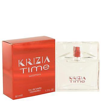 Krizia Time Eau De Toilette Spray By Krizia 1.7 oz Eau De Toilette Spray