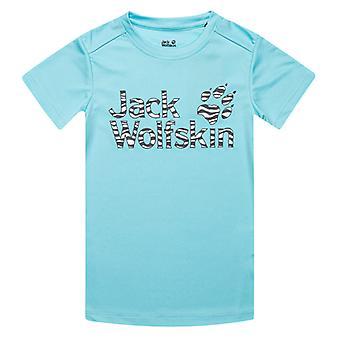 Girl's Jack Wolfskin Infant Jungle T-Shirt in Blue