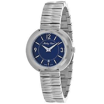 Mathey Tissot Mujeres's Lutenzia Reloj de marcación azul - D1084ABU