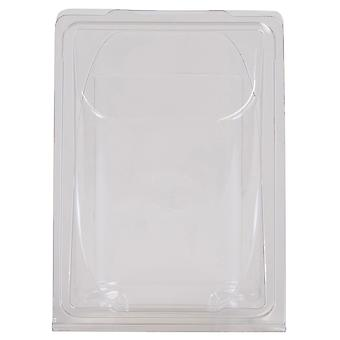 Clear Plastic Tortilla Wrap Container
