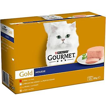 Gourmet Pack With Assorted Mousses (Cats , Cat Food , Wet Food)