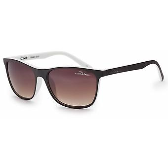 Bloc Eyewear Brown White Sunglasses (Brown Graduated Lens)